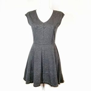 Bar III A-Line Fit and Flare Skater Zipper Dress M